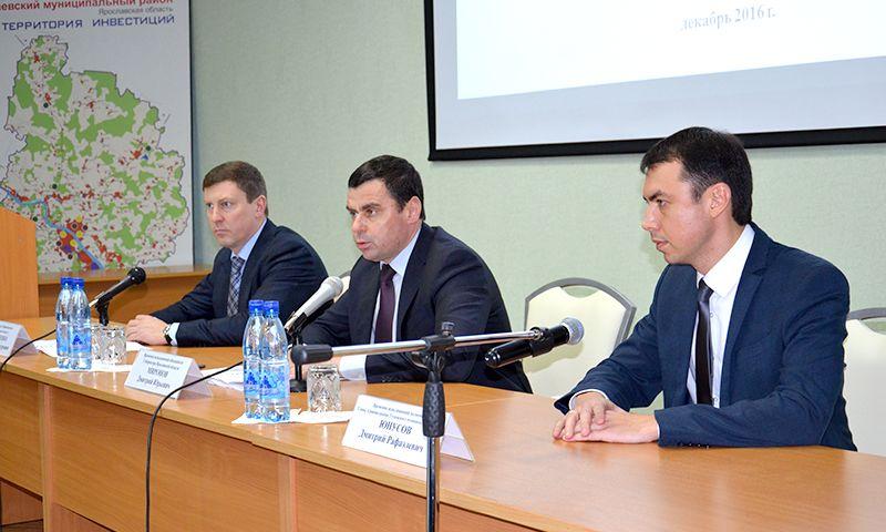 Дмитрий МИРОНОВ: «Мы  постепенно  наведем порядок  в  Тутаевском  районе»